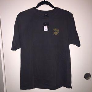 Grey Stussy tshirt